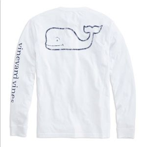 Vineyard Vines | White Long Sleeve T